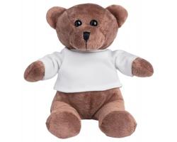 Plyšový medvěd GODDY - bílá