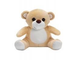 Plyšová hračka pro děti medvěd BAKI - světle hnědá
