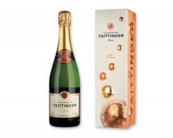 Šampaňské TAITTINGER BRUT RÉSERVE s aroma vanilky, 750ml