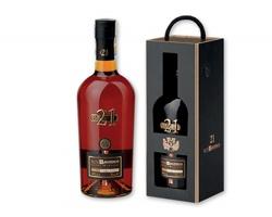 Karibský 21letý rum BAORUCO z Dominikánské republiky, 700ml