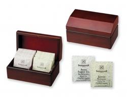 Sada čajů v biokvalitě STEAM v dřevěné krabičce, 2 x 8 ks