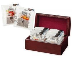 Sada čajů Biogena KENDRA v dřevěné krabičce, 20 čajových sáčků