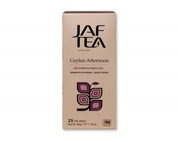 Cejlonský černý čaj JAFTEA BLACK, 25 čajových sáčků