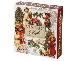 Vánoční kolekce černého a zeleného čaje XMAS COLLECTION III ve vánočním balení, 40 sáčků