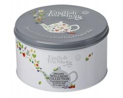 Sada pyramidových wellness bio čajů WHITEA BOX v plechové krabičce - bílá