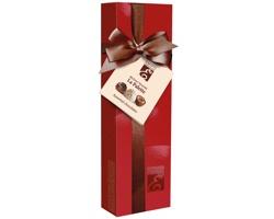 Výběr belgických pralinek DIANTY MIX v dárkovém balení, 65g - červená