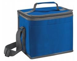 Polyesterová termotaška MELEK s ramenním popruhem - královská modrá