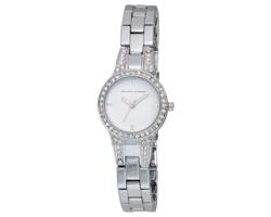 b85a32b4058 Značkové dámské náramkové hodinky Jean-Louis Scherrer EMBER v dárkové  krabičce - stříbrná