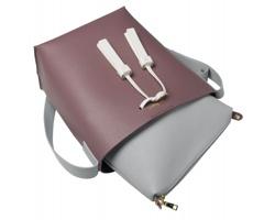 Značková dámská kabelka Cacharel LADYNIA s třásněmi - růžová 8e1d7c3c1a1