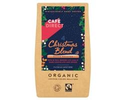 Fairtrade mletá káva CHRISTMAS COFFEE z Peru a Etiopie - přírodní