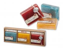 Sada přírodních mýdel Boemi SOAP DREAM, 3ks