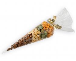 Dárkový kornout GANTY se slanými oříšky a kukuřicí