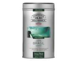 Pražená mletá káva CORSINI KENYA v plechové dóze - zelená