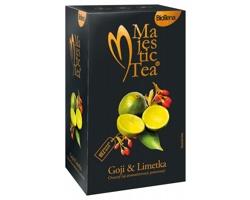 Ovocný čaj goji a limetka MAJESTIC TEA I, 20 sáčků