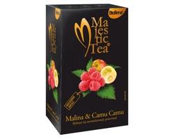 Ovocný čaj MAJESTIC TEA II s příchutí malin a ovoce camu camu