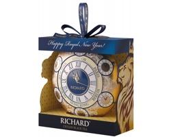 Sypaný černý čaj RICHARD CLOCK II v dárkovém balení