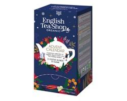 Čajový adventní kalendář English Tea Shop ADVENT TEA, 25 čajových sáčků