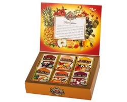Kolekce ovocných čajů Basilur FRUIT INFUSION, 60 sáčků