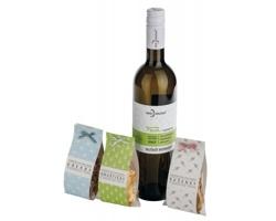 Dárková sada potravin a vína Hruška WHITE PLEASURE