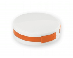 Plastový USB rozbočovač METY - oranžová