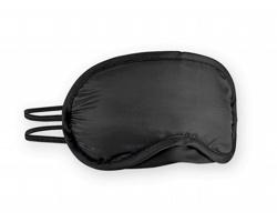 Polstrovaná maska na spaní OSCURA - černá