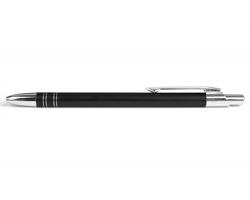 AKCE: Kovové kuličkové pero GLASGOW - černá
