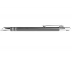AKCE: Kovové kuličkové pero GLASGOW - světle šedá