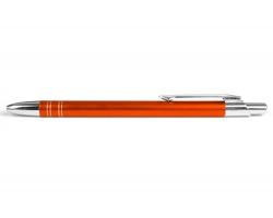 AKCE: Kovové kuličkové pero GLASGOW - oranžová