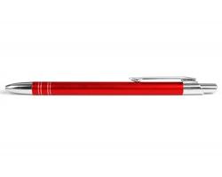 AKCE: Kovové kuličkové pero GLASGOW - červená