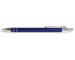 AKCE: Kovové kuličkové pero GLASGOW - tmavě fialová