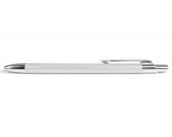 AKCE: Kovové kuličkové pero GLASGOW - bílá