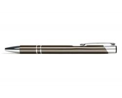 AKCE: Kovové kuličkové pero LONDON - světle šedá