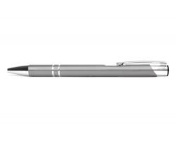 AKCE: Kovové kuličkové pero LONDON - stříbrná