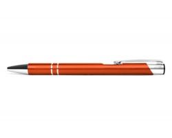 AKCE: Kovové kuličkové pero LONDON - oranžová