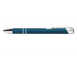 AKCE: Kovové kuličkové pero LONDON - tmavě modrá