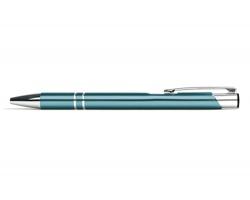 AKCE: Kovové kuličkové pero LONDON - světle modrá