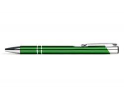 AKCE: Kovové kuličkové pero LONDON - střední zelená
