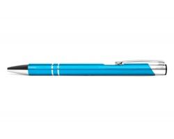 AKCE: Kovové kuličkové pero LONDON - tyrkysová