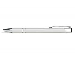 AKCE: Kovové kuličkové pero LONDON - bílá