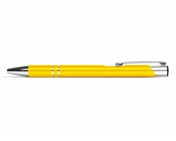 AKCE: Kovové kuličkové pero LONDON - žlutá