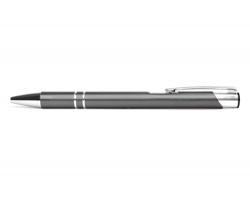 AKCE: Kovové kuličkové pero LONDON - šedá