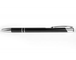 AKCE: Kovové kuličkové pero LONDON SLIM - černá