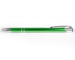 AKCE: Kovové kuličkové pero LONDON SLIM - světle zelená