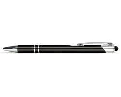 AKCE: Kovové kuličkové pero LONDON TOUCH se stylusem - černá