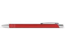 AKCE: Kovové kuličkové pero MANCHESTER - červená