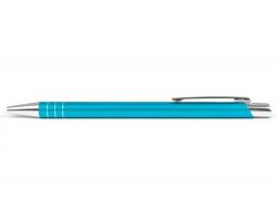 AKCE: Kovové kuličkové pero MANCHESTER - tyrkysová