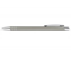 AKCE: Kovové kuličkové pero MANCHESTER - šedá