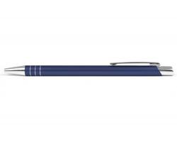 AKCE: Kovové kuličkové pero MANCHESTER - tmavě modrá