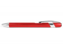 AKCE: Kovové kuličkové pero BELFAST - červená