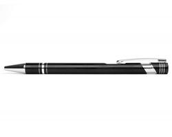 AKCE: Kovové kuličkové pero LEICESTER - černá